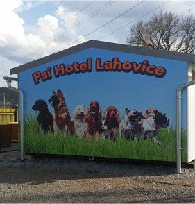 obrázek psího hotelu Lahovice